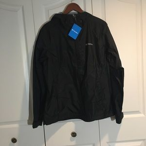 NWT COLUMBIA Women's SPRINGS RAIN JACKET, SIZE L